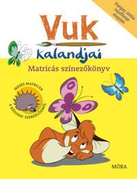 Vuk kalandjai - Matricás színezőkönyv - Dargay Attila rajzfilmje alapján -  (Könyv)
